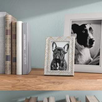 Bungalow Rose Metal Picture Frame