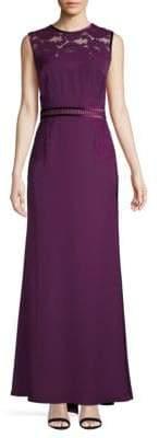Tadashi Shoji Lace Sleeveless Gown