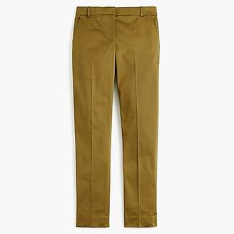 J.Crew Full-length stretch sateen pant