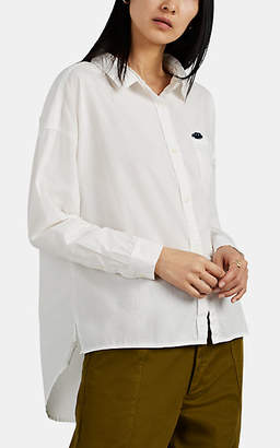 Alex Mill Women's Oversized Button-Front Blouse - White