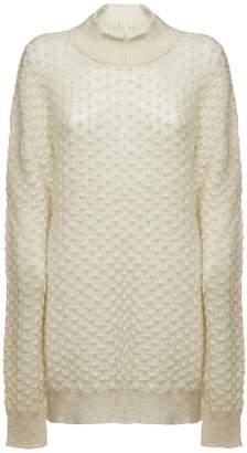 Jil Sander Braided Turtleneck Sweater
