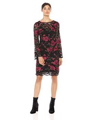 dbce573eafc Trina Turk Women s Geddes 3 4 Sleeve Lace Dress