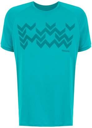 Track & Field Zig print t-shirt