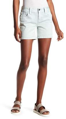 Miss Me Embroidered Mid Rise Easy Shorts