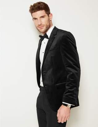 Marks and Spencer Black Velvet Jacket