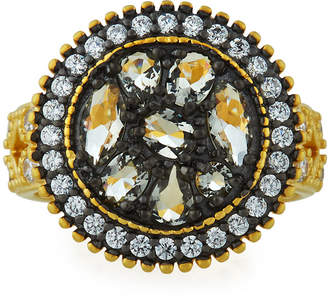 Freida Rothman Rose d'Or Round Pebble Ring, Size 8