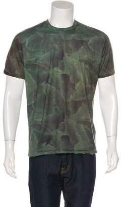 Baja East Foliage Print T-Shirt
