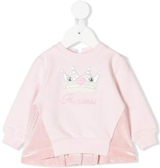 MonnaLisa princess sweatshirt