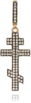 Annoushka Touch Wood Diamond Cross Charm