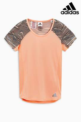 Next Girls adidas Pink Run Tee