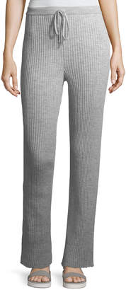 Marques Almeida Marques'almeida Ribbed Knit Drawstring Pajama Trousers