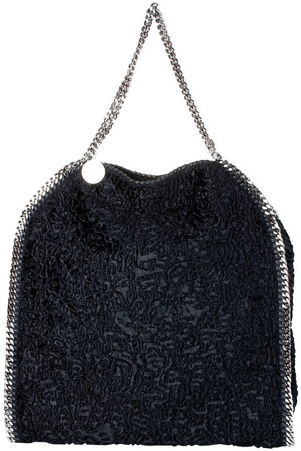Stella McCartney Falabella big tote astrakan