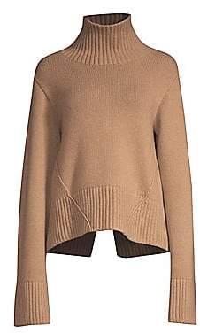 KHAITE Women's Wallis Cashmere Turtleneck Sweater