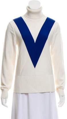 Tory Sport Long Sleeve Turtleneck Sweater