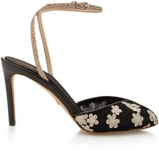 Giambattista Valli Floral Embroidered Sandal
