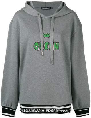 Dolce & Gabbana Queen hoodie
