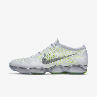 Nike Flyknit Zoom Agility White Pack Women's Training Shoe $150 thestylecure.com