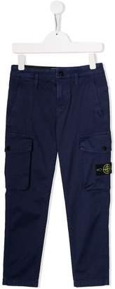 Stone Island Junior cargo trousers