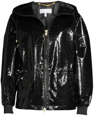 Escada Sport MyPatent Hooded Patent Jacket