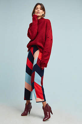 Parker Chinti & Colorblocked Sweater Pants