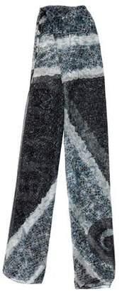 Alexander McQueen Silk Logo Scarf