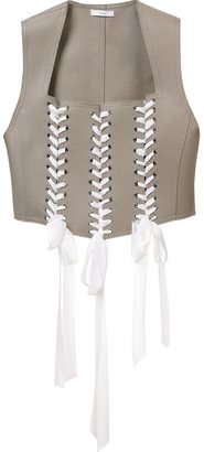 Tome felt tie waistcoat $1,395 thestylecure.com