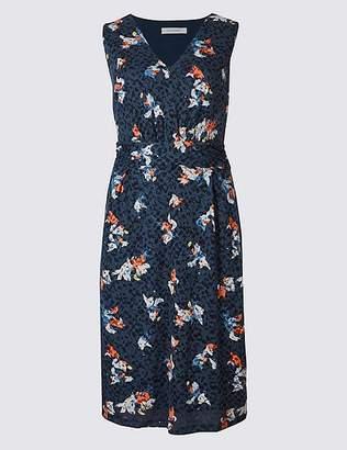 Marks and Spencer Burnout Print Sleeveless Skater Dress