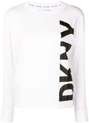 DKNY (ディー ケー エヌワイ) - DKNY ロゴ ロングTシャツ
