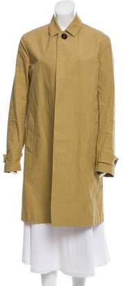 Burberry Collared Knee-Length Coat