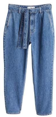 MANGO Baggy jeans