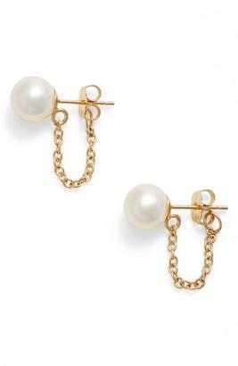 Poppy Finch Pearl Ear Chains