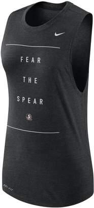Nike Women's Florida State Seminoles Dri-FIT Muscle Tank Top