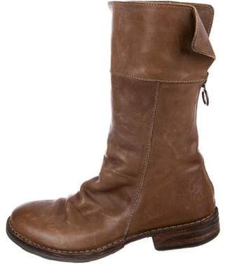 Fiorentini+Baker Leather Mid-Calf Boots