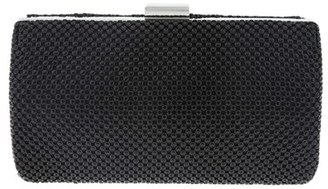 Nina Metal Mesh Box Clutch - Black $58 thestylecure.com