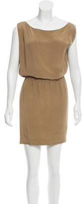 Donna Karan Sleeveless Silk Dress