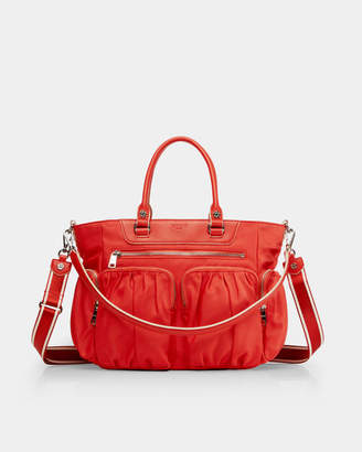 MZ Wallace Tangelo Small Abbey Tote
