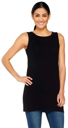 Women With Control Women with Control Regular Long and Lean Bateau Neck Tank