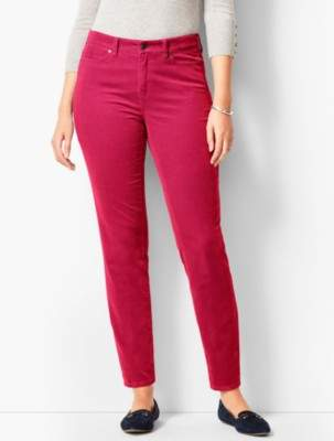Talbots Slim Ankle Pant - Curvy Fit/Cord