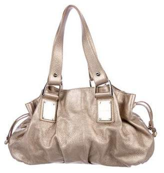 Michael Kors Metallic Leather Tote Bag