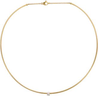 Marco Bicego Luce 18K Yellow Gold 0.10 Ct. Tw. Diamond Necklace