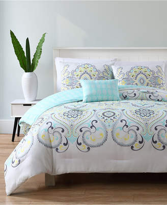 Vcny Home Amherst Reversible 3-Pc. Twin Xl Quilt Set