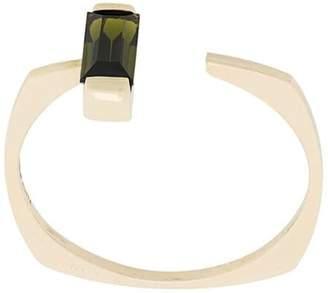 ALIITA 9kt yellow gold Aro Gota tourmaline ring