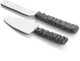 Michael Aram Gotham Two-Piece Cheese Knife Set