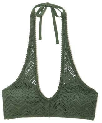 Vince Camuto Crochet Bikini Top