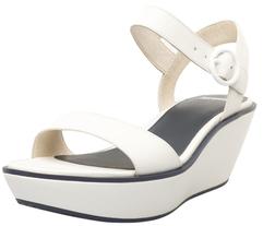 CamperDamas Leather Wedge Sandal