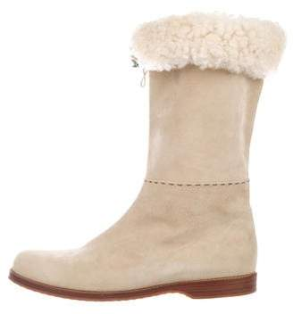 Henry Beguelin Jennifer Suede Boots