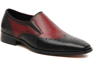 Carrucci Color Block Wingtip Slip-On - Men's