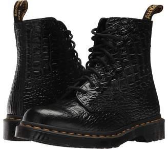 Dr. Martens Pascal Croco 8-Eye Boot Women's Boots