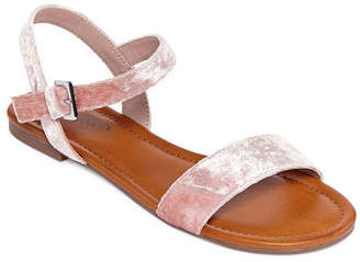 Arizona Womens Bleaker Ankle Strap Flat Sandals
