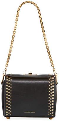 Alexander McQueen Box 19 Pioneer Calf Leather Crossbody Bag